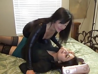 Bdsm Bondage Vibrator vid: Thief Caught, Gagged & Vibed