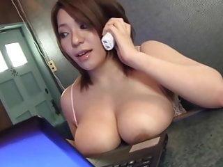 Mituki Busty Nipple Slip