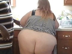 Fat Girl Fucked In The Kitchen