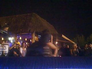 Funny Voyeur Party video: Bull Upskirt 15