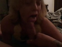 Ass and cum eating freaky wife