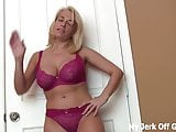 You can jerk your cock to my big DD sized tits JOI