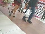 Nice MILF with sexy heels