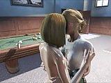 Fallout 4 Katsu and Emogene