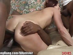 DevilsGangBangs Creampie anale per Horny DP'd Slut