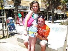 Une douce adolescente déchirée à Majorque