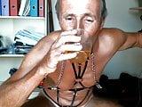 olibrius71 piss drink, clamps nipples, bizarre