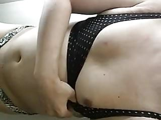 Asian CD Stephy in mismatched bikini