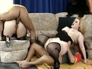 Bbw Big Tits xxx: TWO GERMAN BBW MILFS FUCKED AND FISTED IN GANGBANG