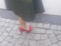 Amateur Damen  Und High Heels