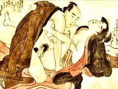 Shunga Art 2 między 1603 a 1868 rokiem