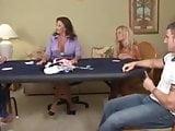 She loses at poker