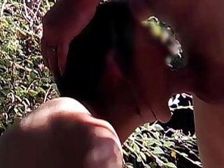 Tits Outdoor Milf video: Cum into the garden pt 2 of 2