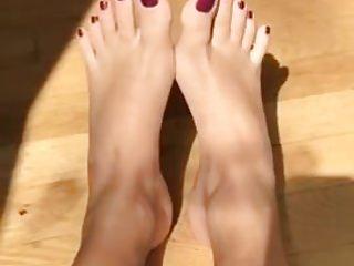 Teens Foot Fetish movie: Pretty Teen Feet #2