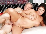 Mature Carolyn Jewel Takes a Thick Cock
