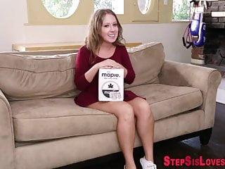 Teen stepsister fingered