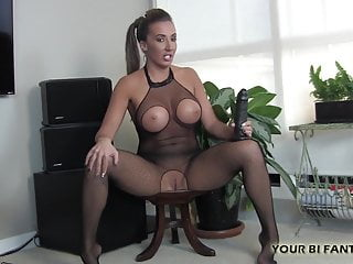 Femdom Pov Bisexual video: I am going to teach you how to suck really big cock