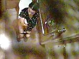 Toilet Spy cam Singapore Chinese girl.
