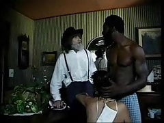 Mennonite finds his wife sucking off the black farmhand
