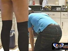 Marito non a casa: Milf britannico e idraulico