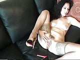 Beautiful Wife Do It Herself For Hubby