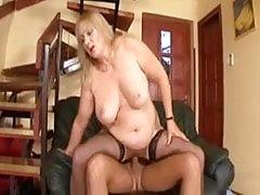Fat Blonde MILF Eva Katona