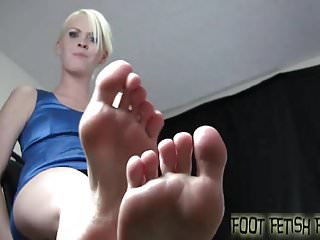 Bdsm Femdom Pov video: Four girls feet all for you