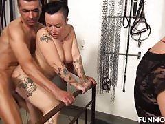 Reife Amateure Deutsche Bi-Sexuelle Orgie