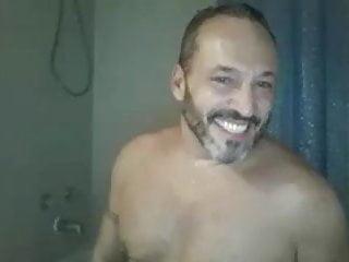 .nice french daddy shower.