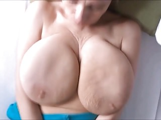Matures Big Boobs video: Alena's hangers