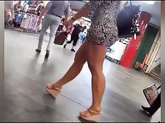 bonne salope au centre commercial-Homemade Amateur Video