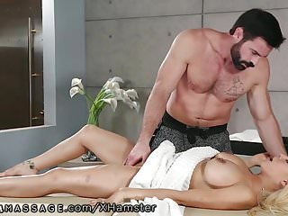 Massage Big Tits Latina video: Snotty Latina Put in Her Place & Squirts for Hung Masseur!