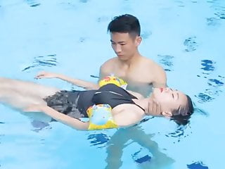 Massage Fingering Teen video: .How to Massage in Water by Floating body
