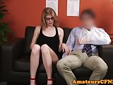 Oldyoung Cfnm Amateur Cfnm Channel video: Young CFNM fetish babe teases older guy