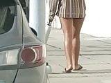 Long smooth teen legs