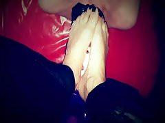 Adoración del pie