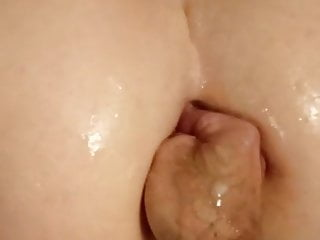 Amateur Bbw Fisting video: BBW behind fist