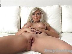 Castingxxx Ohromující blondýnka je úžasná kurva v castinu