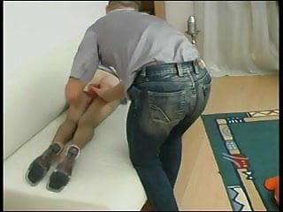 Hot and quite passionate Russian anal sex