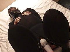 Nylon Klebeband ummantelt Mädchen durchgefickt