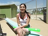 Emily Willis loves sucking dick at the baseball park!
