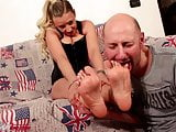 A New Slave Life - Feet Worship Barefoot and Boots Licking