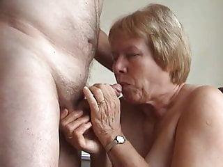 Matures Amateur Granny video: GRANNY SUCKS GRANDPA