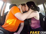 Spicy young Alessa Savage pounded hard at driving school
