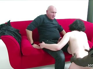 Interracial Cuckold Big Cock video: German old Couple Book Huge Cock Black Callboy to Fuck 3some