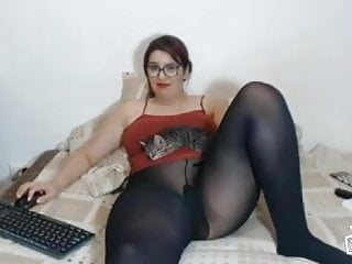 Bbw Stockings Pantyhose video: BBW in Pantyhose