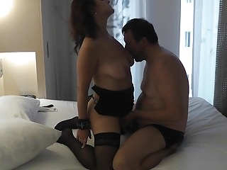 Amateur Cuckold Wife video: and Hubby was filming and wanking