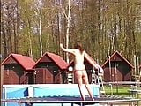 Funky Guste -Topless skipping