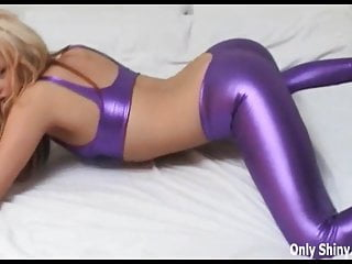 Babes Lingerie Pink video: Are my shiny pink PVC panties turning you on