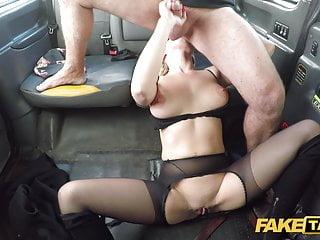 Blonde Blowjob Big Cock video: Fake Taxi Beautiful Elizabeth Romanova hardcore fucking